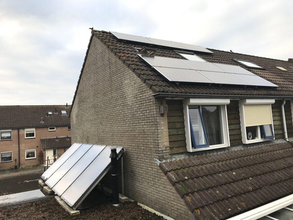 Zonneboiler en zonnepanelen in Kampen