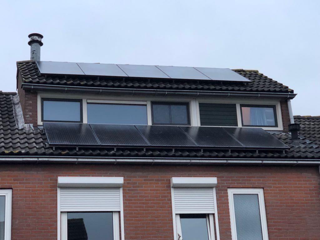 SolarWatt Glas-Glas zonnepanelen in Hattem (Overijssel)