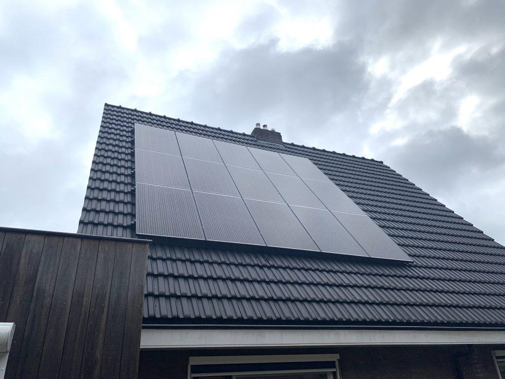zonnepanelen in Zuidwolde geplaatst