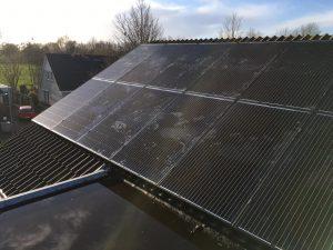 SolarWatt Glas-Glas zonnepanelen geplaatst aan de Floralaan in Bovensmilde