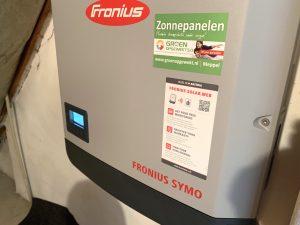 Fronius 3 fase omvormer in Markenesse Noordoostpolder