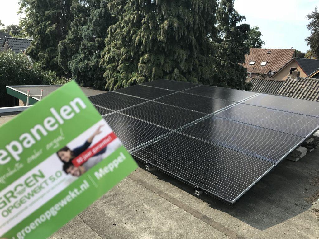 SolarWatt zonnepanelen in Elspeet