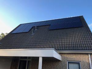 SolarWatt per zonnepanelen in De Wijk geplaatst te Gemeente de Wolden.