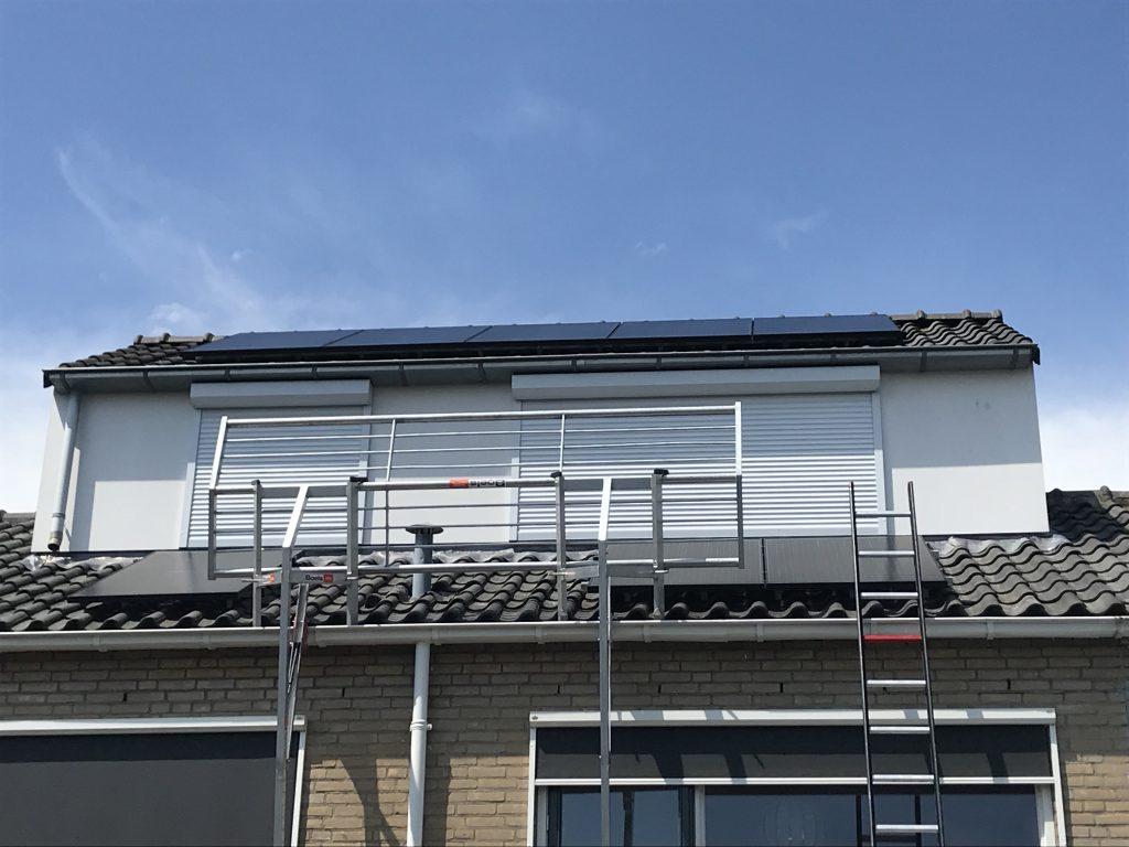 SolarWatt glas-glas zonnepanelen in Kampen geplaatst door GroenOpgewekt 5.0 uit Meppel - Boudesteyn Hypotheken en verzekeringen
