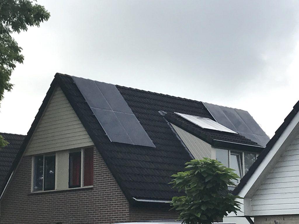 Exasun Glas-Glas zonnepanelen in Drenthe - Hoogeveen