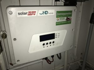 SolarEdge omvormer in Drenthe - Meppel