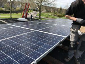 SolarWatt zonnepanelen in Swifterbant