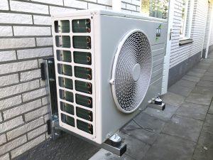 Remko warmtepomp buiten unit in Dalfsen