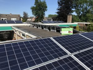 SolarWatt Glas-Glas 60P zonnepanelen in Musselkanaal