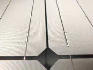PERC zonnecellen in de glas-glas zonnepanelen van SolarWatt in Ommen geplaatst