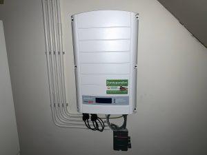 Salderen met een solaredge omvormer, wat kost een solaredge omvormer?
