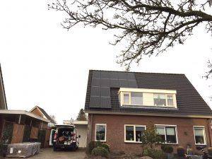 SolarWatt Glas-Glas zonnepanelen in Vaassen met SolarEdge omvormer