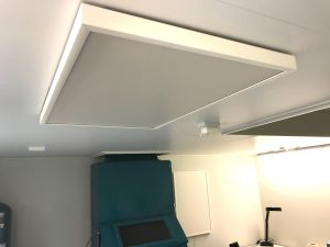 Plafond montage nano infrarood warmtepanelen