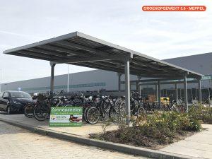 Zonnerijwielstalling BIPV Oosterhout