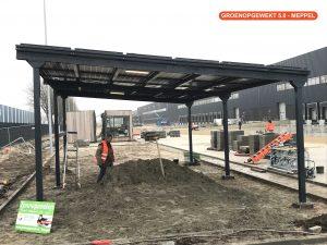 Zonnerijwielstalling BIPV Oosterhout 2017