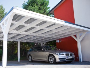 BMW Carports met zonnepanelen