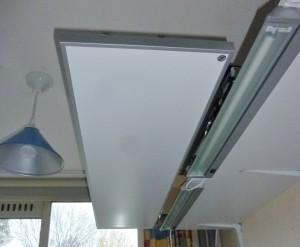 Pendel-ophanging infrarood paneel Zwolle Bergave