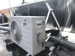 REMKO buiten-unit met Solar