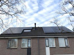 SolarWatt glas-glas zonnepanelen in Wierden