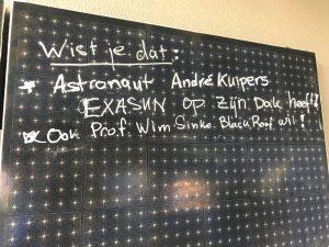 Andre Kuipers en Wim Sinke kiezen voor Exasun zonnepanelen