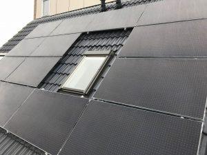 Exasun Blaxk Glass zonnepanelen in Sloten Friesland