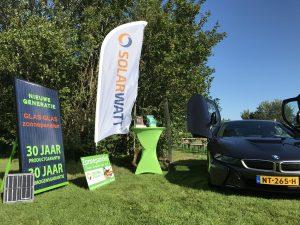 GroenOpgewekt 5.0 uit Meppel en BMW Dusseldorp uit Zwolle gezamenlijk aanwezig op het wijnfeest van de Reestlandhoeve in Balkbrug