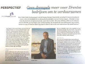 Guido Hoek van de Drente Energie Organisatie