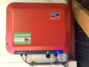 SMA omvormer geplaatst in Koekange - Drenthe