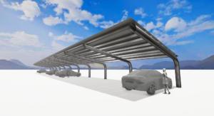 Solarcarport, Solar carport, zonnepanelen carport, carport met zonnepanelen door heel Nederland
