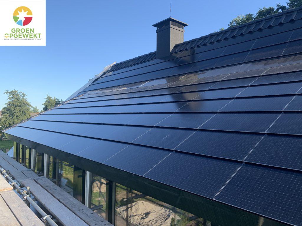Exasun X-Roof zonnepanelen in plaats van dakpannen in Hattem