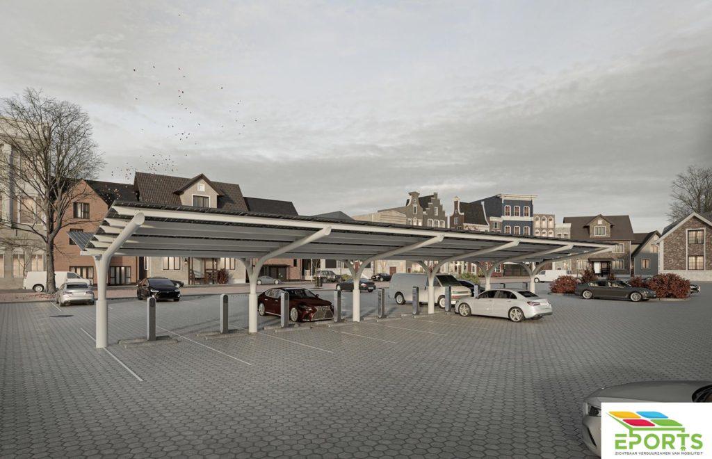 ZONNECARPORTS IN NEDERLAND