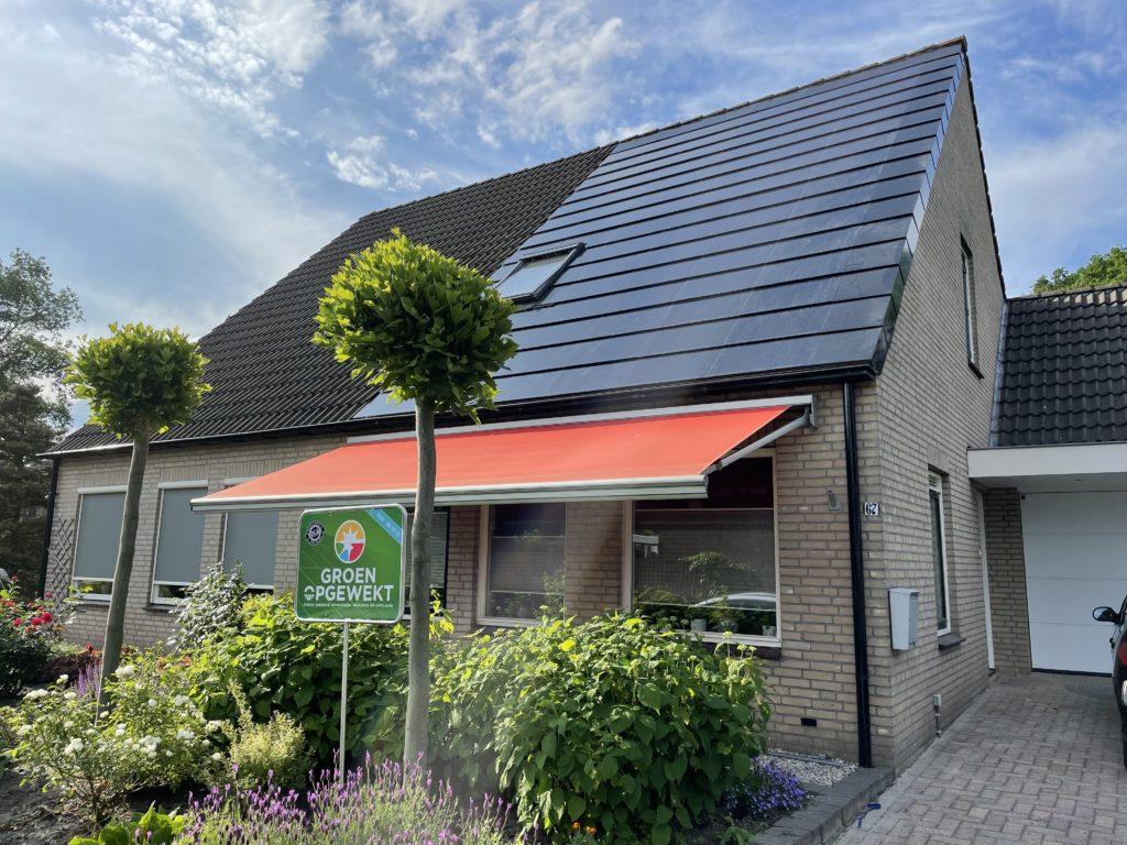 zonnepanelen geplaatst in Emmen